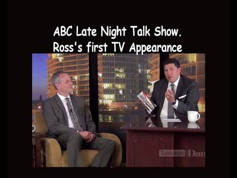ABC Late Night Talk Show.  Ross