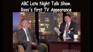 Ross Rosenberg on an ABC Late Night Talk Show -  Codependents & Narcissists. Codependency Expert