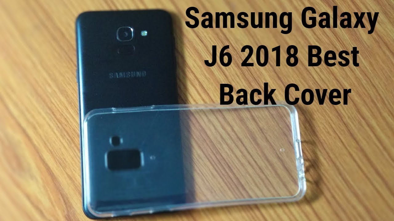 detailed look e93cc a1213 Samsung Galaxy J6 2018 Best Back Cover Unboxing | Hindi