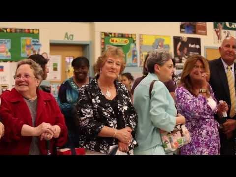 Rosemont Forest Elementary School Time Capsule Opening - Virginia Beach, Virginia