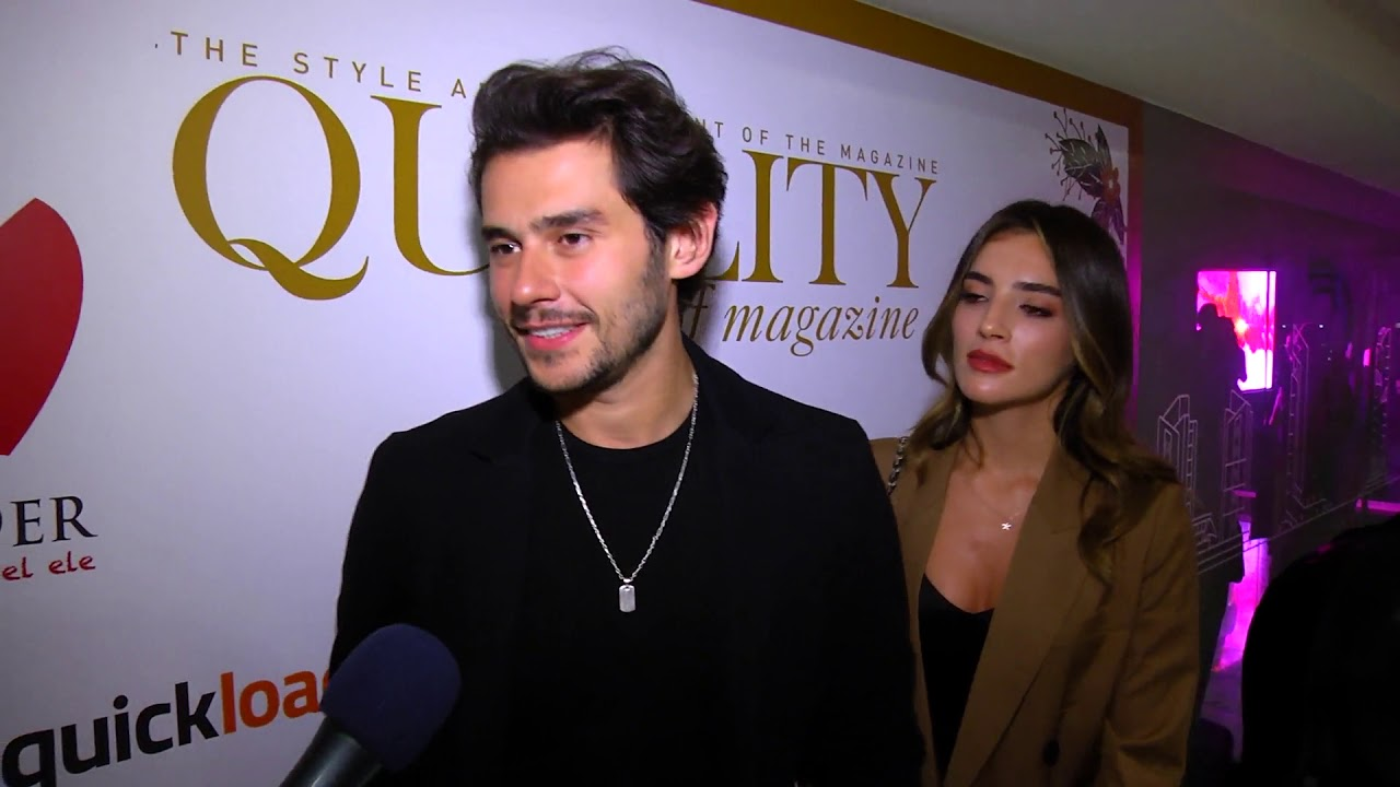 Cem Belevi sevgilisi Zehra Yilmaz ile elele geldi... - YouTube