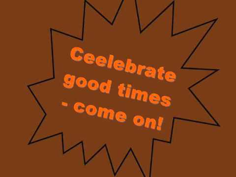 Kool & The Gang - Celebration Lyrics