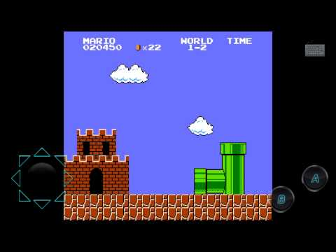Обзор Марио на андроид.