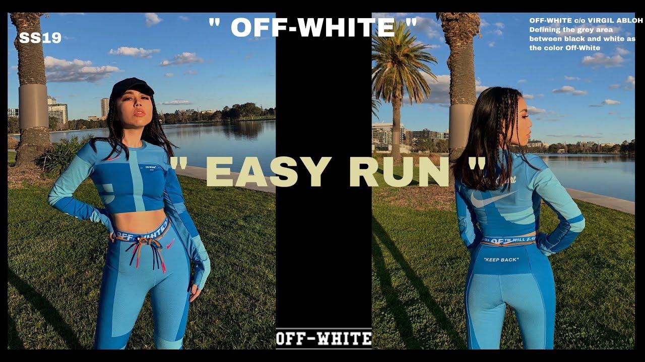 OFF-WHITE X NIKE EASY RUN WOMEN SPORTS