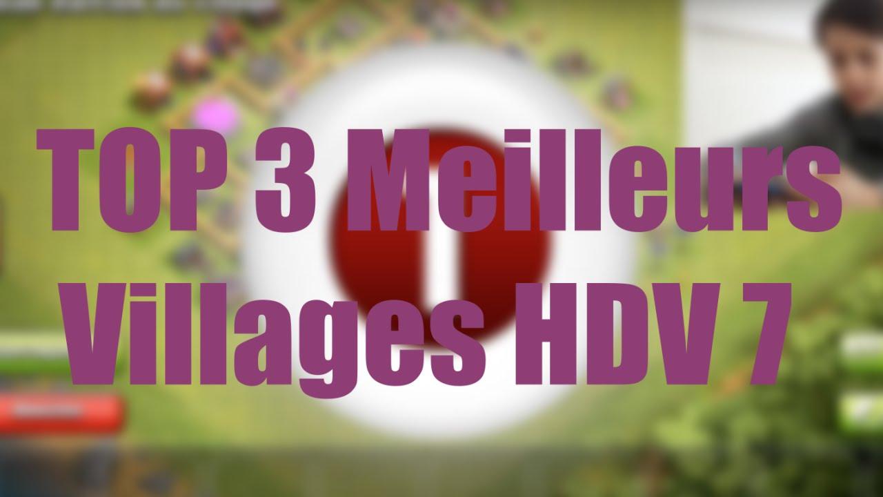 sapin noel 2018 clash of clans TOP 3 Meilleurs Villages HDV 7   YouTube sapin noel 2018 clash of clans
