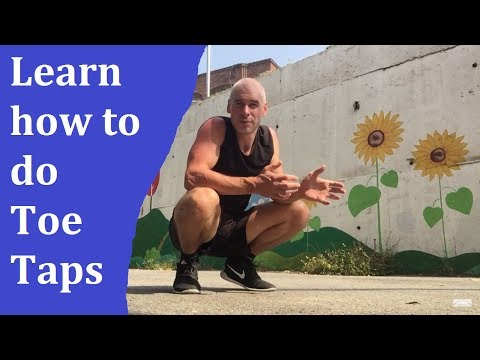 How to do the Boxers Front Toe Tap Jump Rope move: Boxers Skipping move