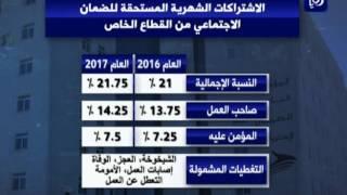 اقتطاعات اشتراكات الضمان الاجتماعي لعام 2017 - (10-12-2016)