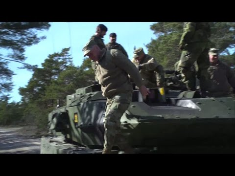 Amerikansk toppgäst på Gotland - Nyheterna (TV4)