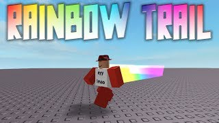 Rainbow Trail Tutorial | Roblox Scripting Tutorials 📜📜