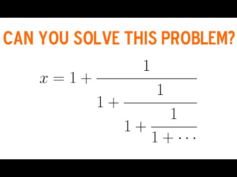 Can You Solve This Infinite Fraction?