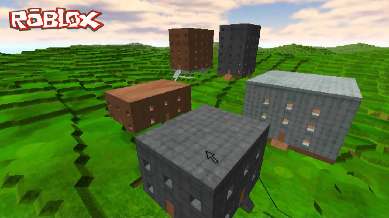 "User Showcase: Procedurally Generating a ""Zombie City!"" - Roblox Blog"