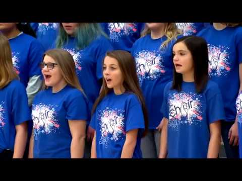 Clark Pleasant Middle School Christmas Concert Highlights with Accompanist Kinza Hagerup