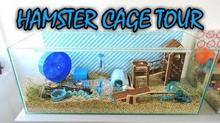Ariel's Hamster Cage Tour - May 2016(Watch in HD- It was time for a new cage tour! So here it is! Ariel's cage tour. I wasn't going for a theme, but it turned out sort of a blue cage theme. I hope you ..., 2016-05-12T21:42:26.000Z)