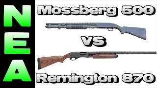 Mossberg 500 vs Remington 870 - Which is Better?
