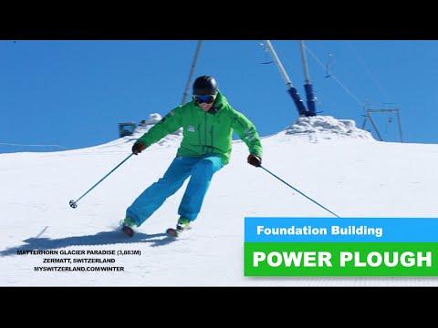 POWER PLOUGH - Foundation Building (Warren Smith Ski Academy)