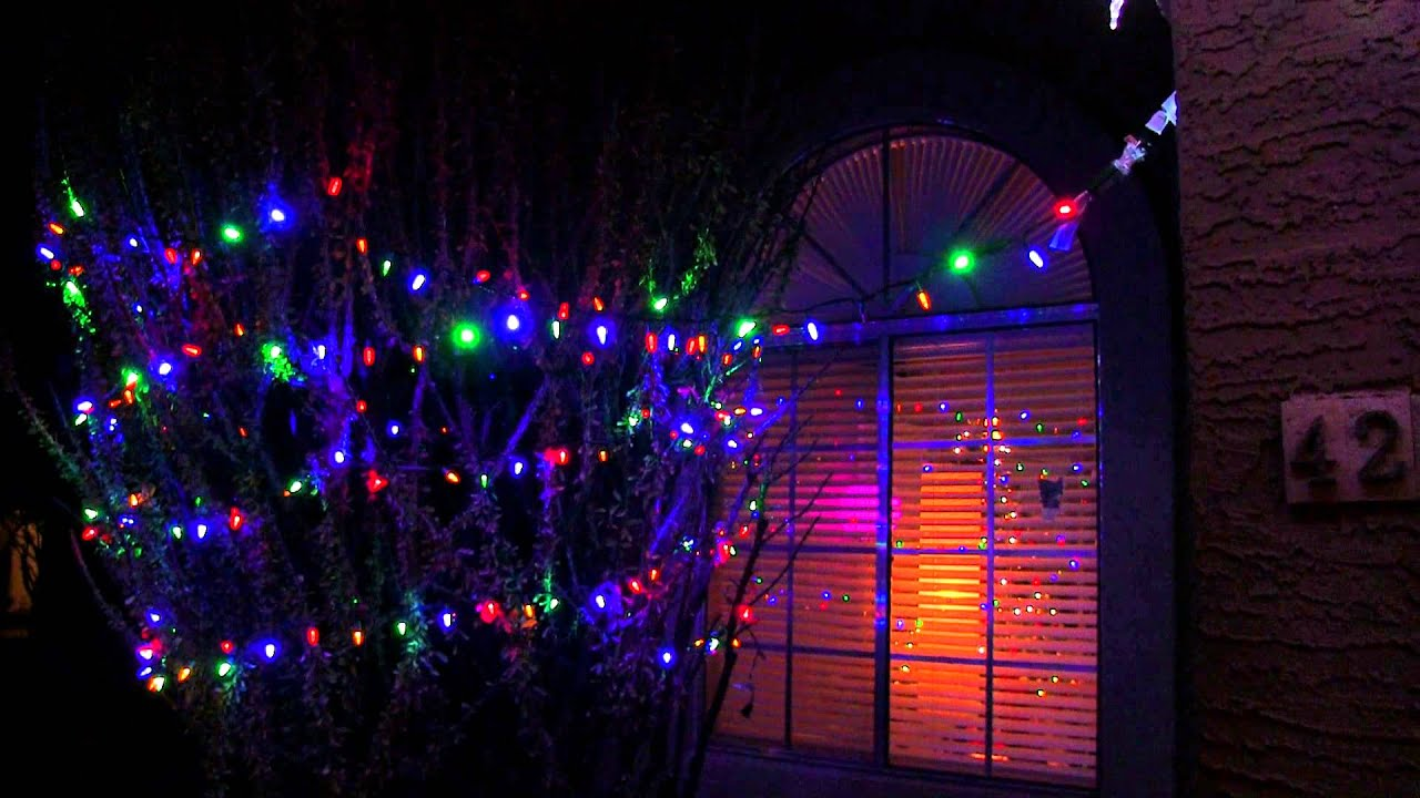 Hue Christmas Lights - YouTube