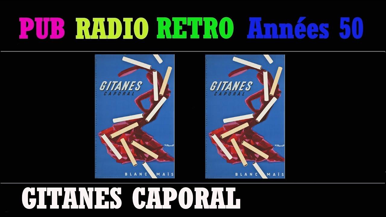 Pub radio retro annees 50 gitanes caporal avec ou sans - Radio accordeon sans pub ...