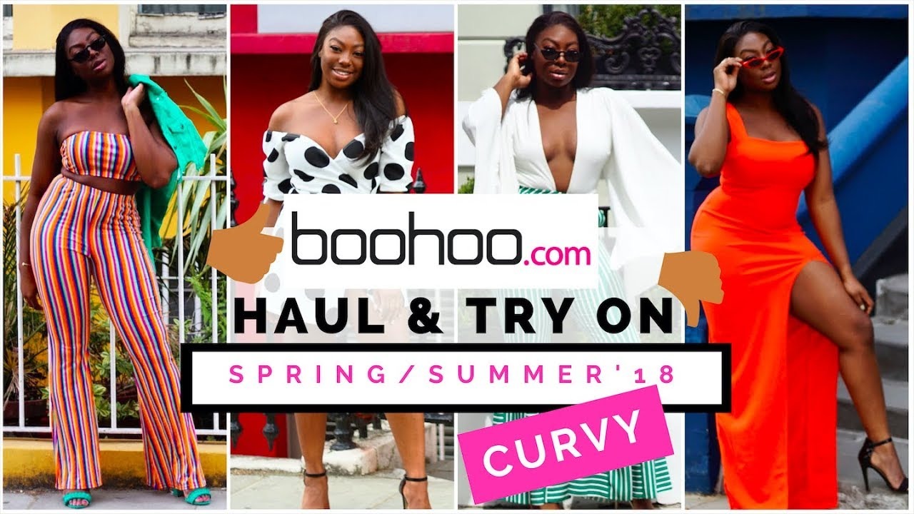 52d9c9d90329f Curvy Girl Friendly Boohoo Haul & Try On Spring Summer 2018