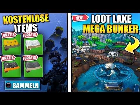 Neue KOSTENLOSE Skins 🎁😱 Loot Lake Baustelle KRASSE Map Änderung   Fortnite Live Event Deutsch