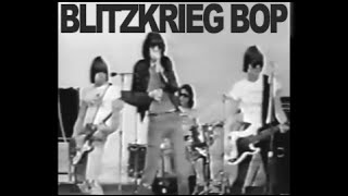 The RAMONES - Blitzkrieg Bop (Video)
