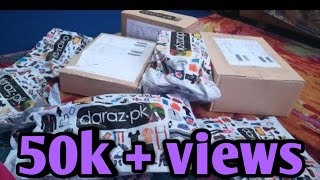 Daraz mini shoping haul😄😄
