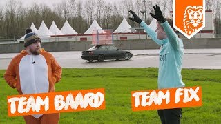 CROSSBAR OP EEN RACENDE AUTO CHALLENGE – TEAM FIX vs. TEAM BAARD