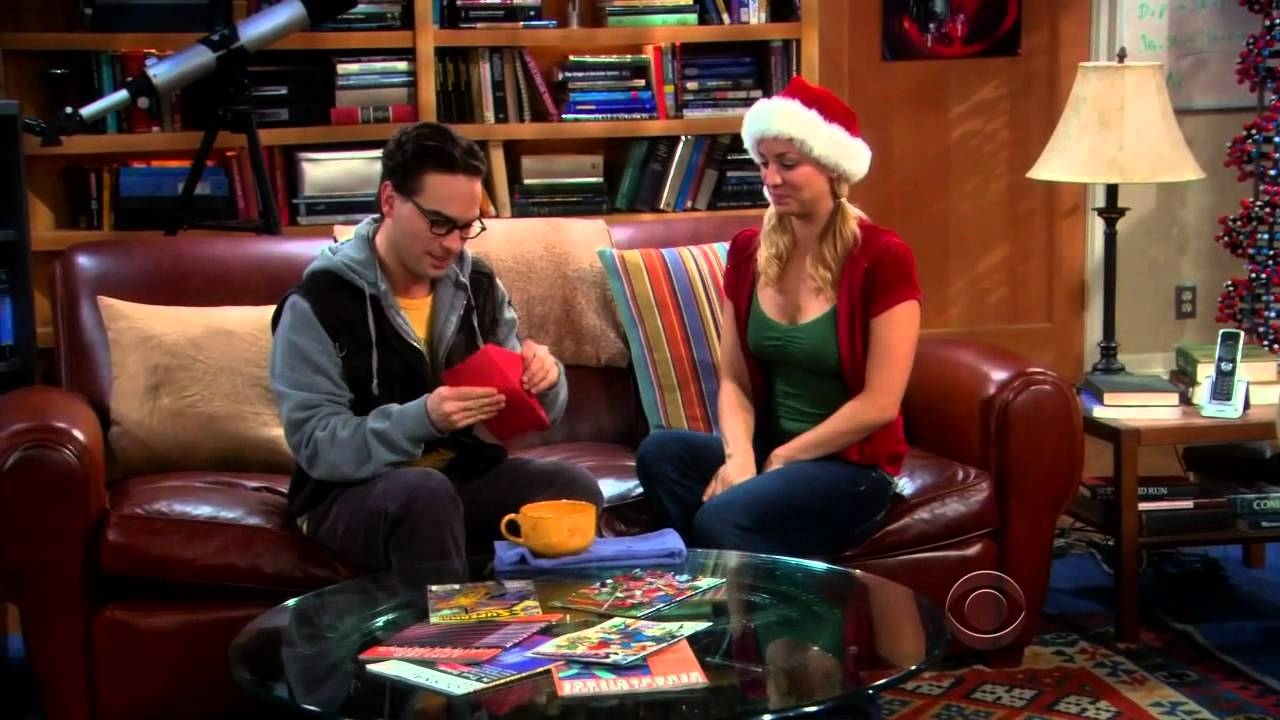 Big bang theory christmas bath item gift hypothesis