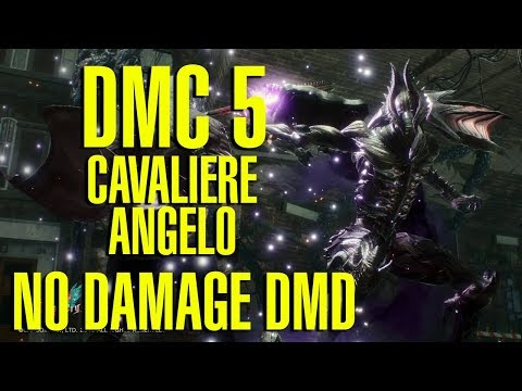 Devil May Cry 5 - Cavaliere Angelo DMD No Damage Combo SSS - Cerberus, Coyote & Kalina Ann 1 & 2