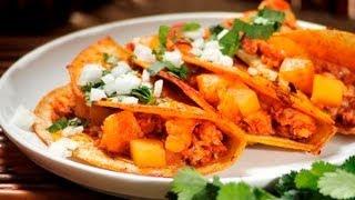 Tacos De Pescado Al Pastor - Fish Tacos Al Pastor