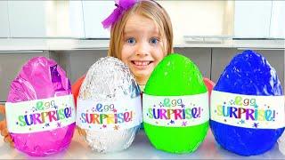 Милли и папа история для детей про вредные сладости и конфеты | Chocolate Surprise  Challenge