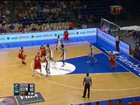 USA V Poland FIBA U17 World Champs Finals 2010