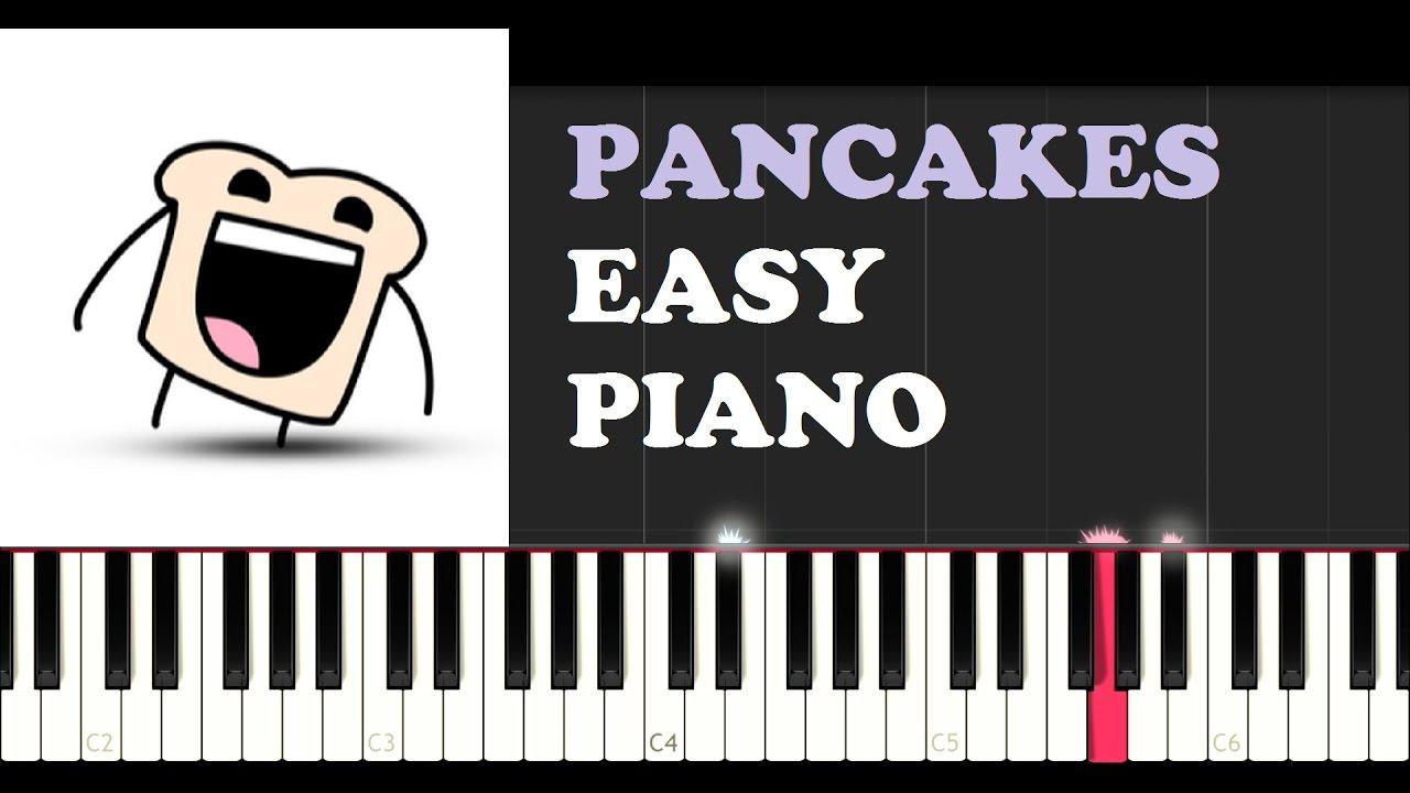 OMFG - Pancakes (EASY Piano Tutorial)