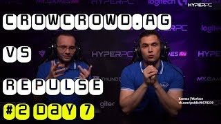 CROWCROWD.AG vs REPULSE #2 - Warface Special Invitational Group Stage. Day 7