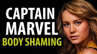 Captain Marvel Body Shaming Double Standards