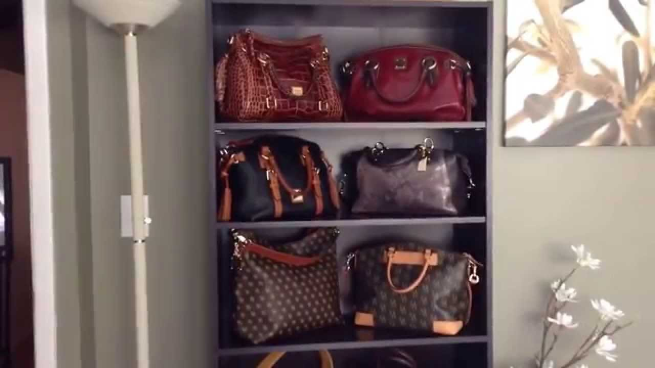 Handbag Storage Solution - YouTube