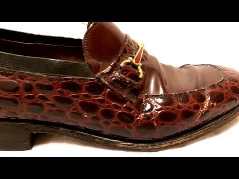 Allen Edmonds Alligator Shoes