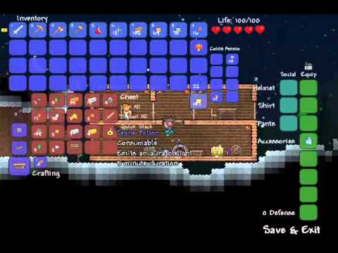 let s play terraria sp how to make a bed part 4 youtube