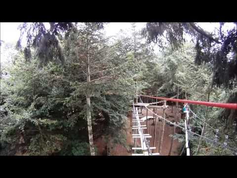 GOPRO accrobranche (forest adventure) saint sauveur le vicomte
