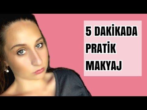 5 Dakikada Pratik Makyaj Nasıl Yapılır?