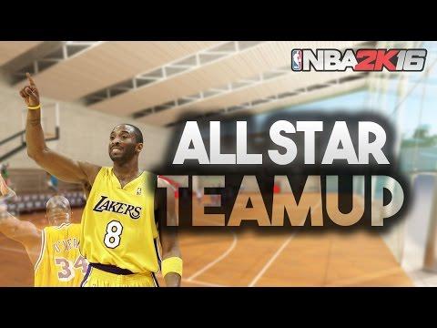 NBA 2k16 - 01 Lakers vs 04 Pistons Team Up Dominate Game