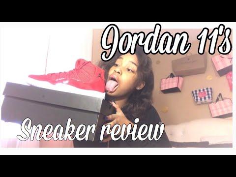 AIR JORDAN 11's WIN LIKE 96 REVIEW + ON FOOT