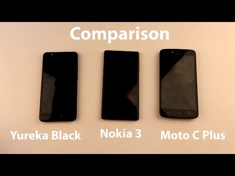 Yureka Black vs Nokia 3 vs Moto C Plus : Comparison Video | Mobisium
