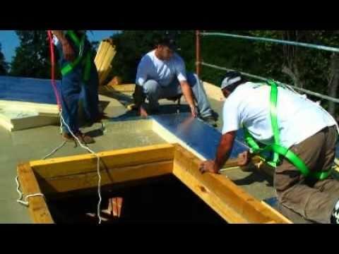 Eurotoit isolation thermique par l 39 ext rieur de toiture inclin e youtube - Isolation toiture par l exterieur knauf ...