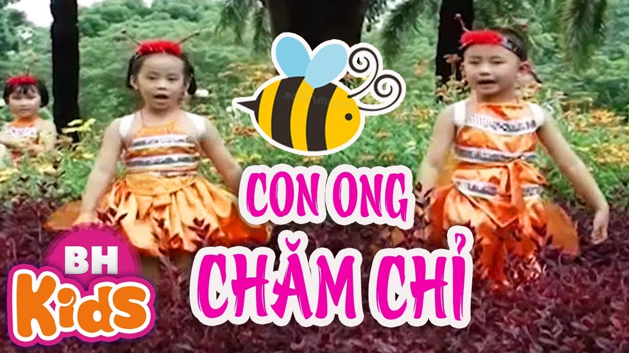 Con Ong Chăm Chỉ ♫ Nhạc Thiếu Nhi Vui Nhộn Cho Bé Yêu