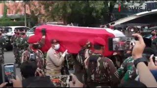 Jenazah Kabinda Papua Brigjen Putu Danny Disemayamkan di Markas Kopassus Cijantung