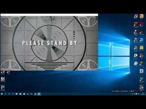 Как сделать Fallout 4 на весь экран? / How to make a Fallout 4 on the entire screen ?