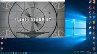 Как сделать Fallout 4 на весь экран How to make a Fallout 4 on the entire screen