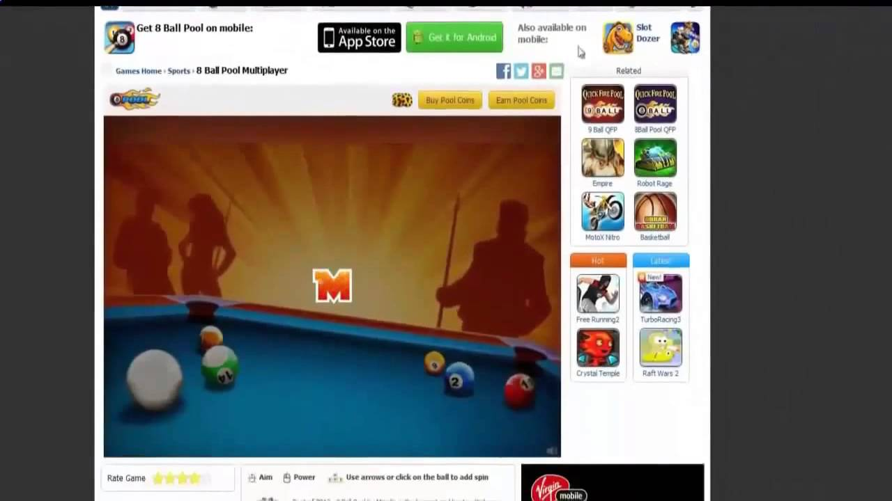 8 ball pool hack - Coins for ios, ifunbox, android with ...