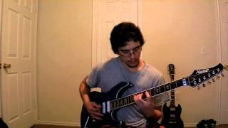 Jordan Castro Guitar Cover of Sunset by Devin Townsend Project