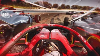 FIRST RACE AT PAUL RICARD - F1 2018 Assetto Corsa Gameplay